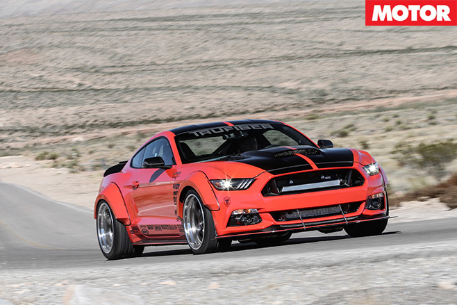 KAR Motorsport Mustang GT driving