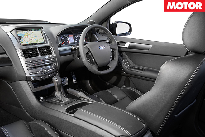 Ford Falcon XR8 Sprint interior