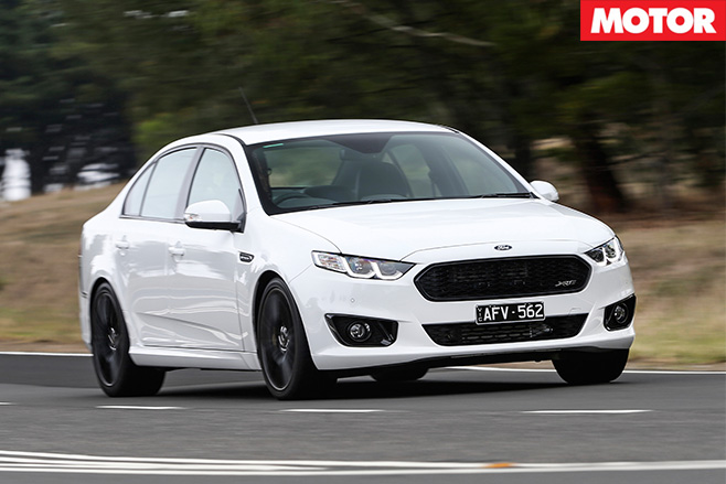 Ford falcon sprint xr6 turbo front driving