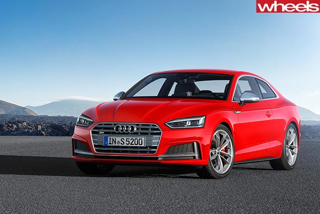 Audi -S5-front