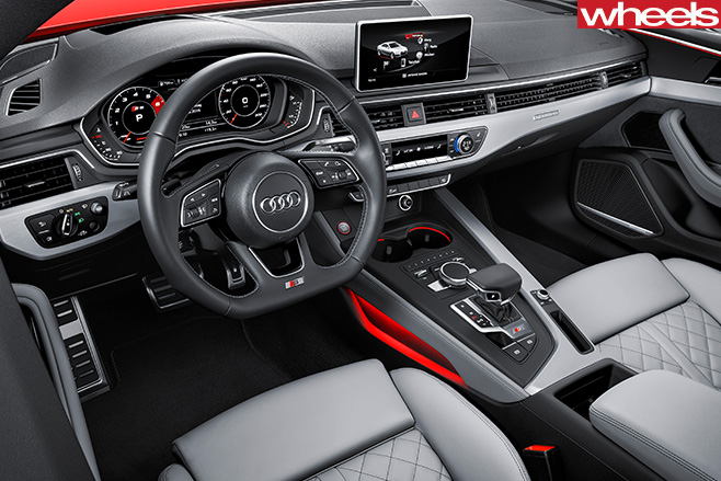Audi -A5-interior