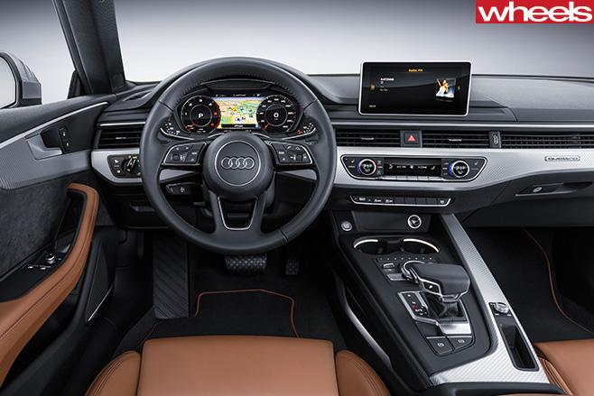 Audi -A5-interir