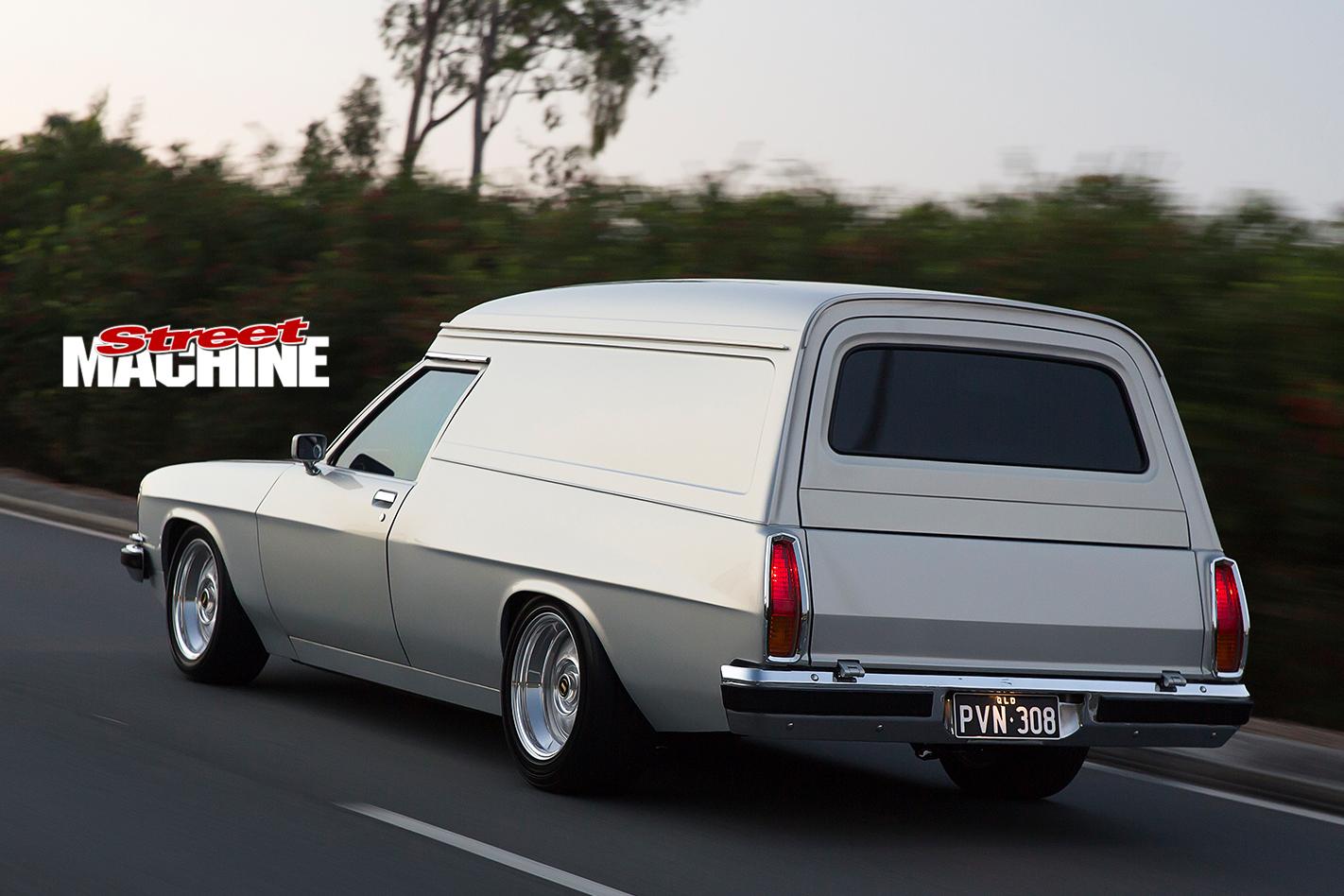 Holden -HX-Sandman -rear -onroad