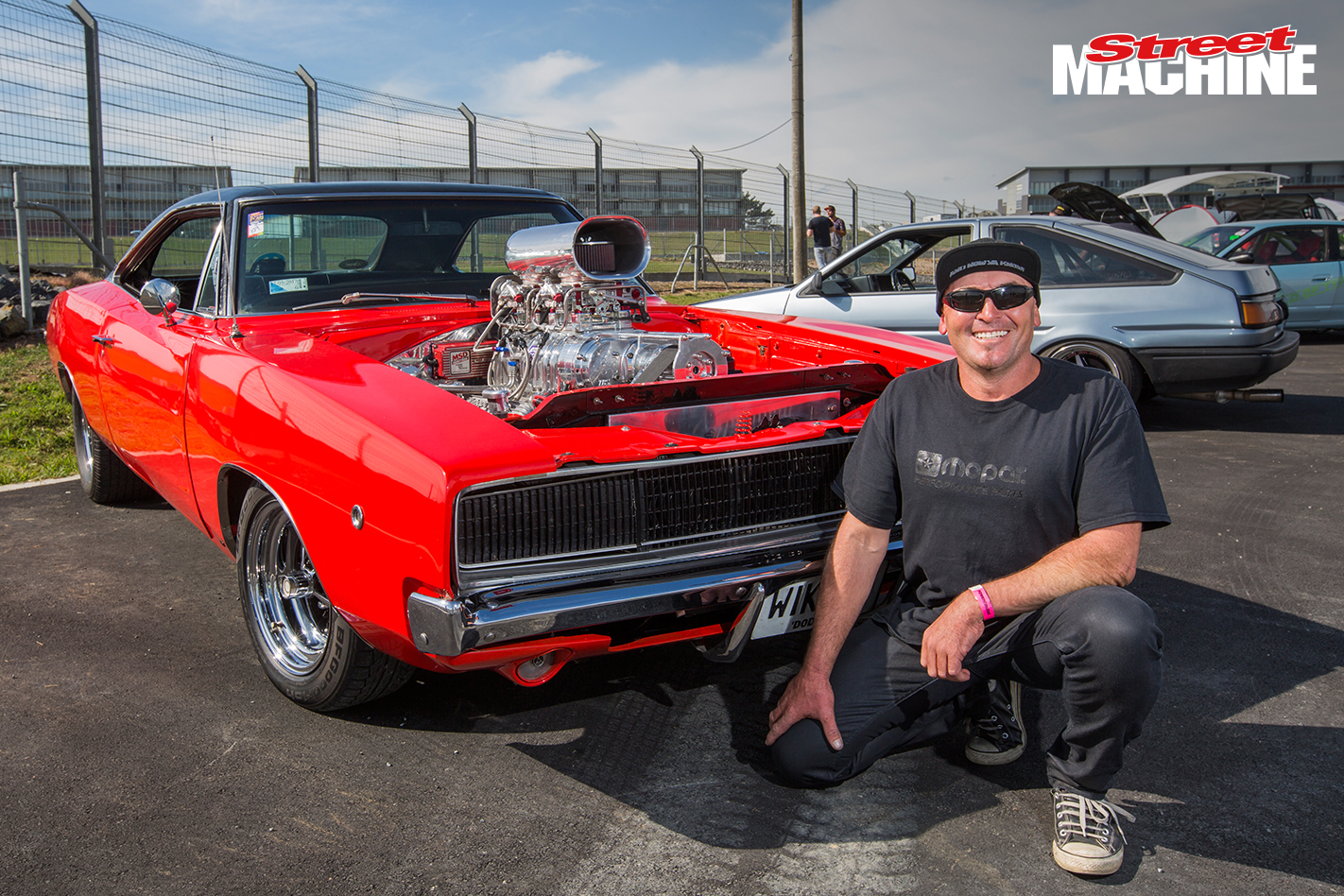 68 Dodge Charger Blown