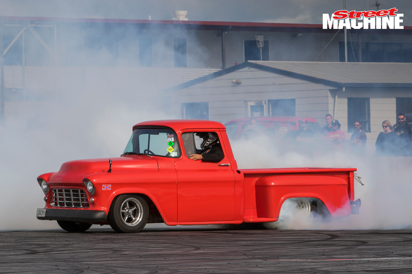 Chevy Ute Burnout