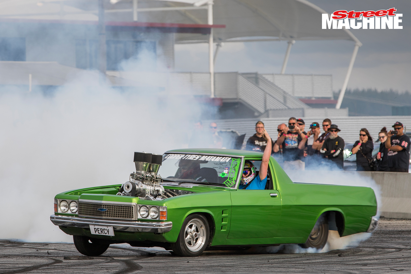 HZ Holden Ute Burnout