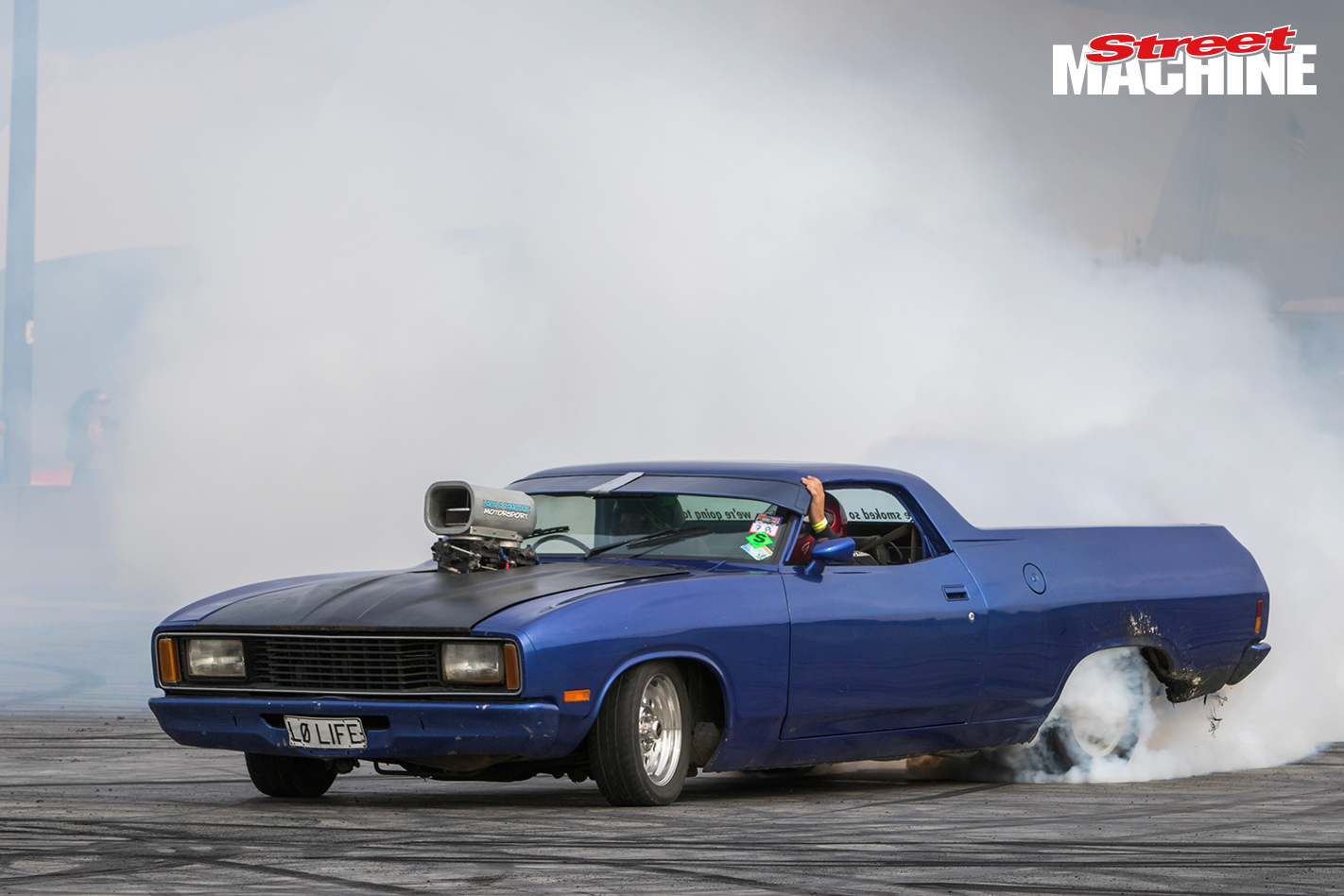 XC Falcon Ute Burnout