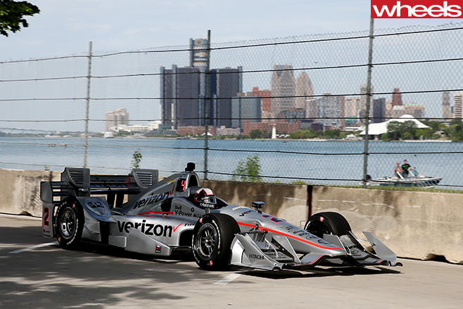 Power -Indycar -race -car -side