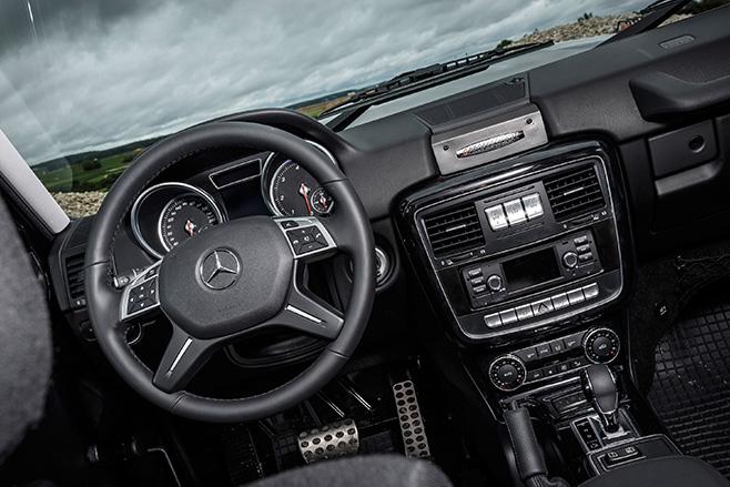 Mercedes -Benz -G350d -Professional -interior