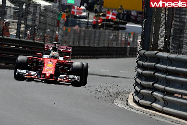 Ferrari -F1-front -Monaco