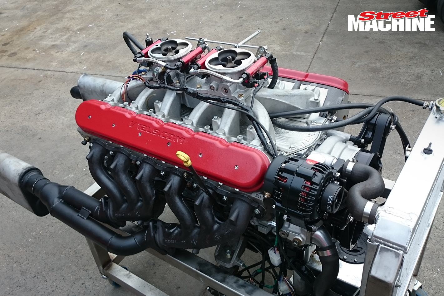V12 LS1 Engine 1