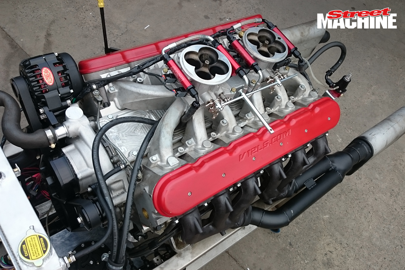 V12 LS1 Engine 3