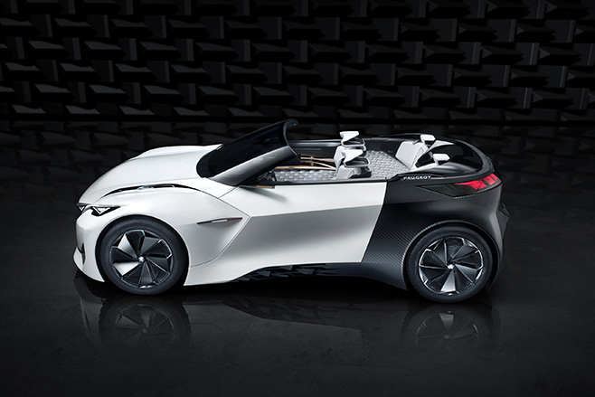 Peugeot -Fractal -Electric -car