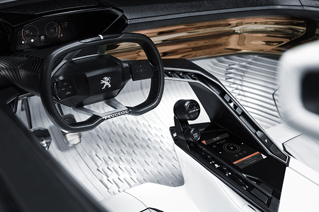 Peugeot -Fractal -Electric -interior