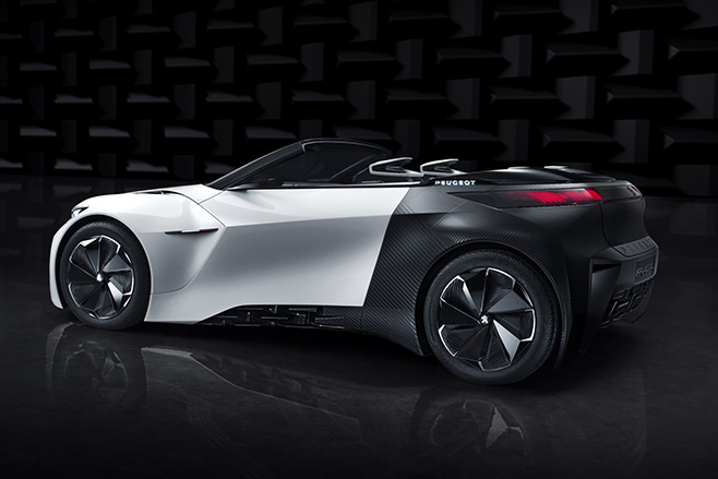Peugeot -Fractal -Electric -side -rear