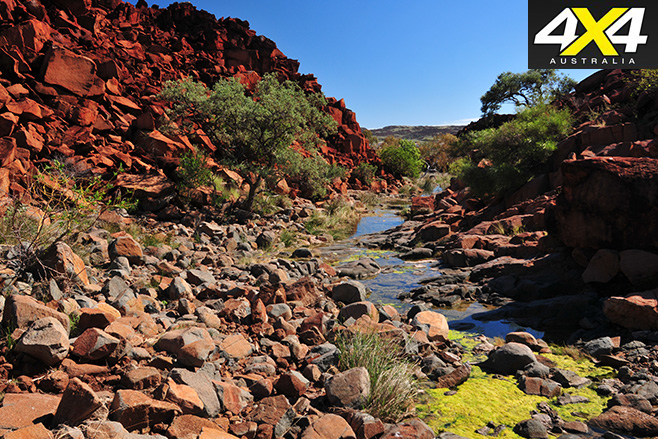 Deep gorge at burrup peninsula