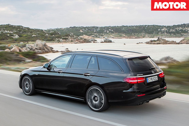 Mercedes-AMG E43 Estate rear driving