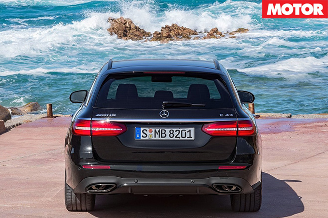Mercedes-AMG E43 Estate rear