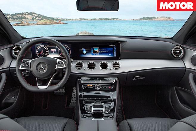 Mercedes-AMG E43 Estate interior