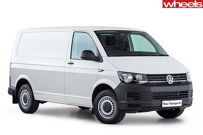 Volkswagen -Transporter -front -side