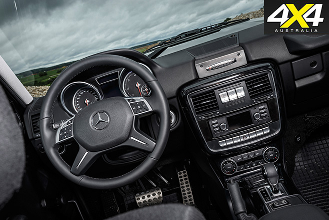 Mercedes-Benz G350d Professional interior