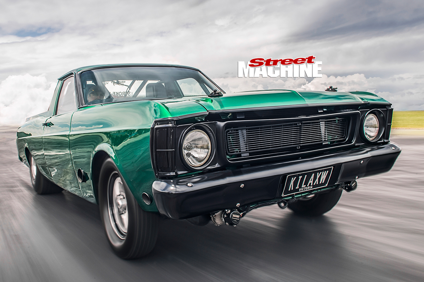Ford -Falcon -XW-ute -front -onroad