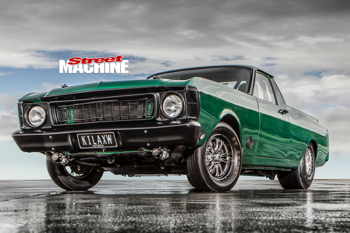 Ford -Falcon -XW-ute -front -low
