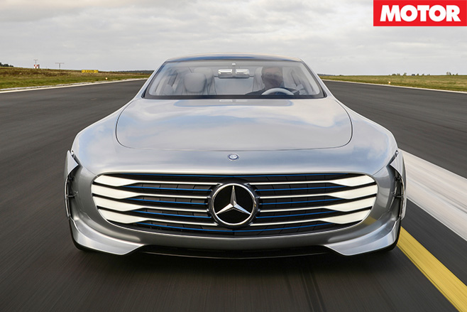 Mercedes-Benz IAA front