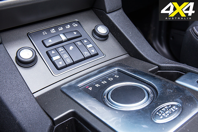 Land rover discovery auto transmission