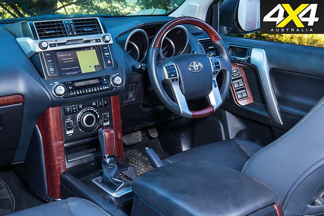 Toyota prado kakadu interior