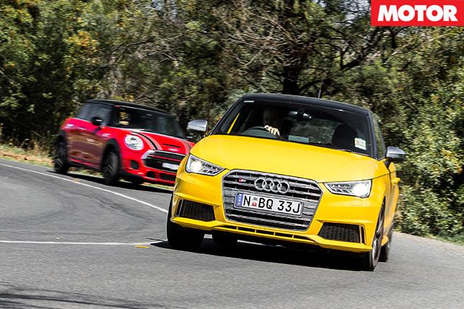 Audi s1 in front