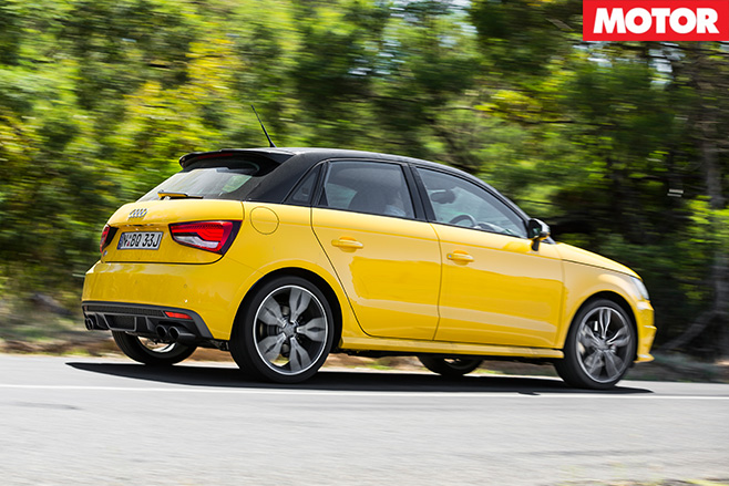 Audi s1 driving side
