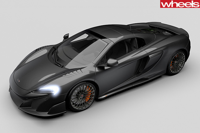 Mc Laren -675LT-front -side