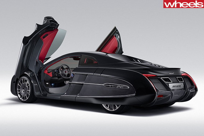 Mc Laren -675LT-carbon -fibre -side -doors -open