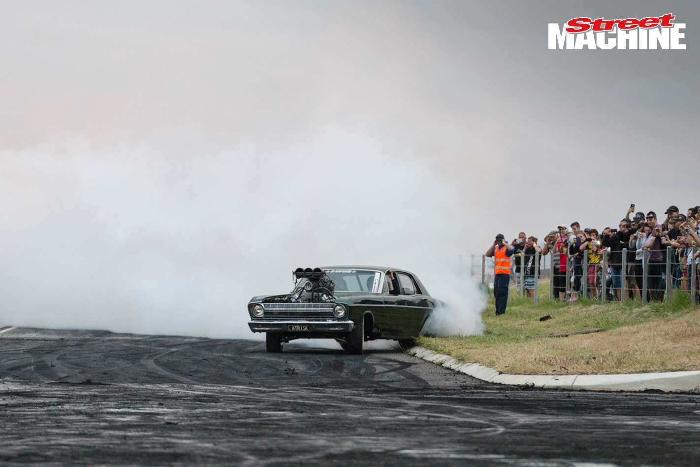 Ford XR Falcon Burnout ATRISK