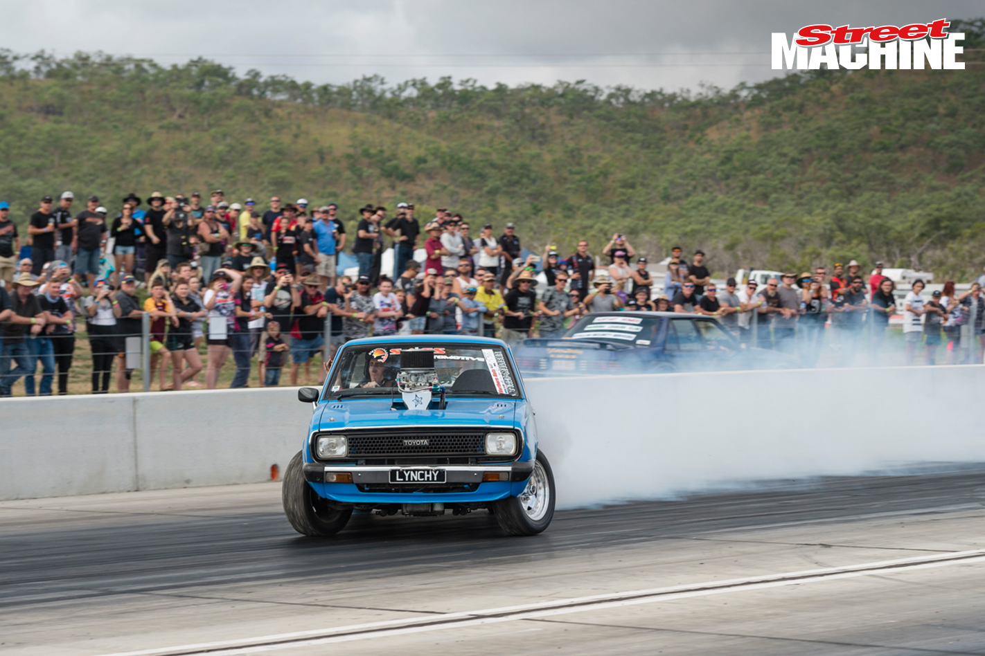 Lynchy V8 Corolla Burnout