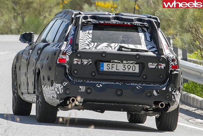 Volvo -V90-rear
