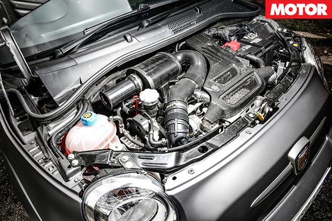 Abarth 695 Biposto engine