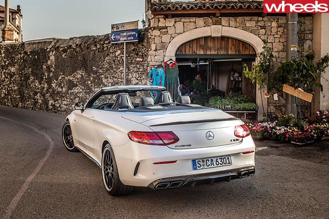 Mercedes -Benz -C-Class -Cabriolet -rear