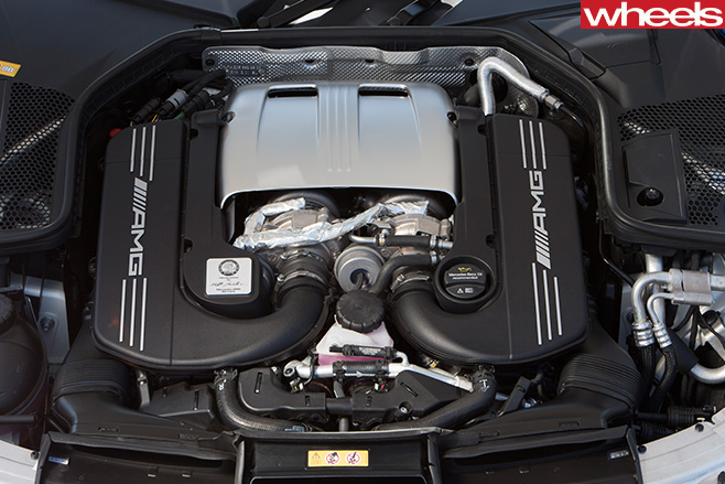 Mercedes -Benz -C-Class -Cabriolet -engine