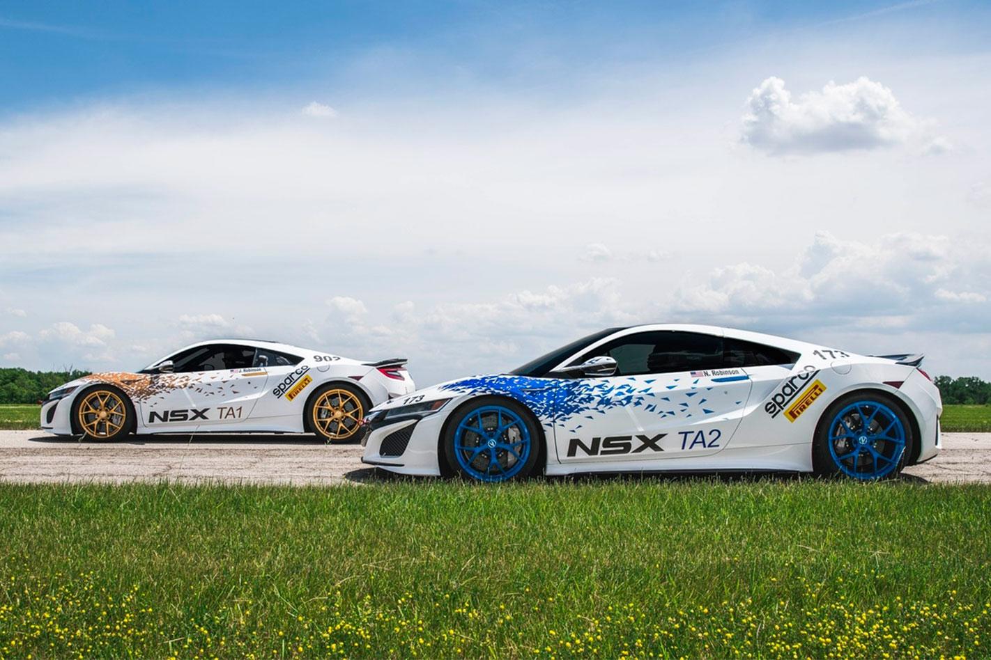 Honda -NSX-Pikes -Peak