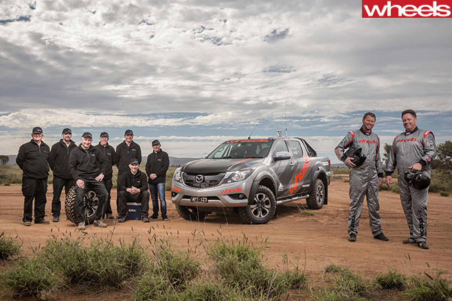 FINKE-2016-Mazda -BT-50-team -Wheels