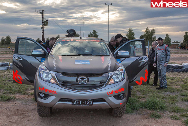 Mazda -BT-50-prepared -for -Finke -Desert -Race -doors -open