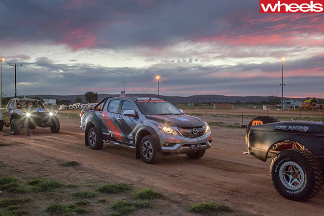 Wheels -Mazda -BT-50-Finke -Desert -Race -2016