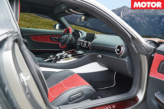 Mansory Mercedes-AMG GT S interior