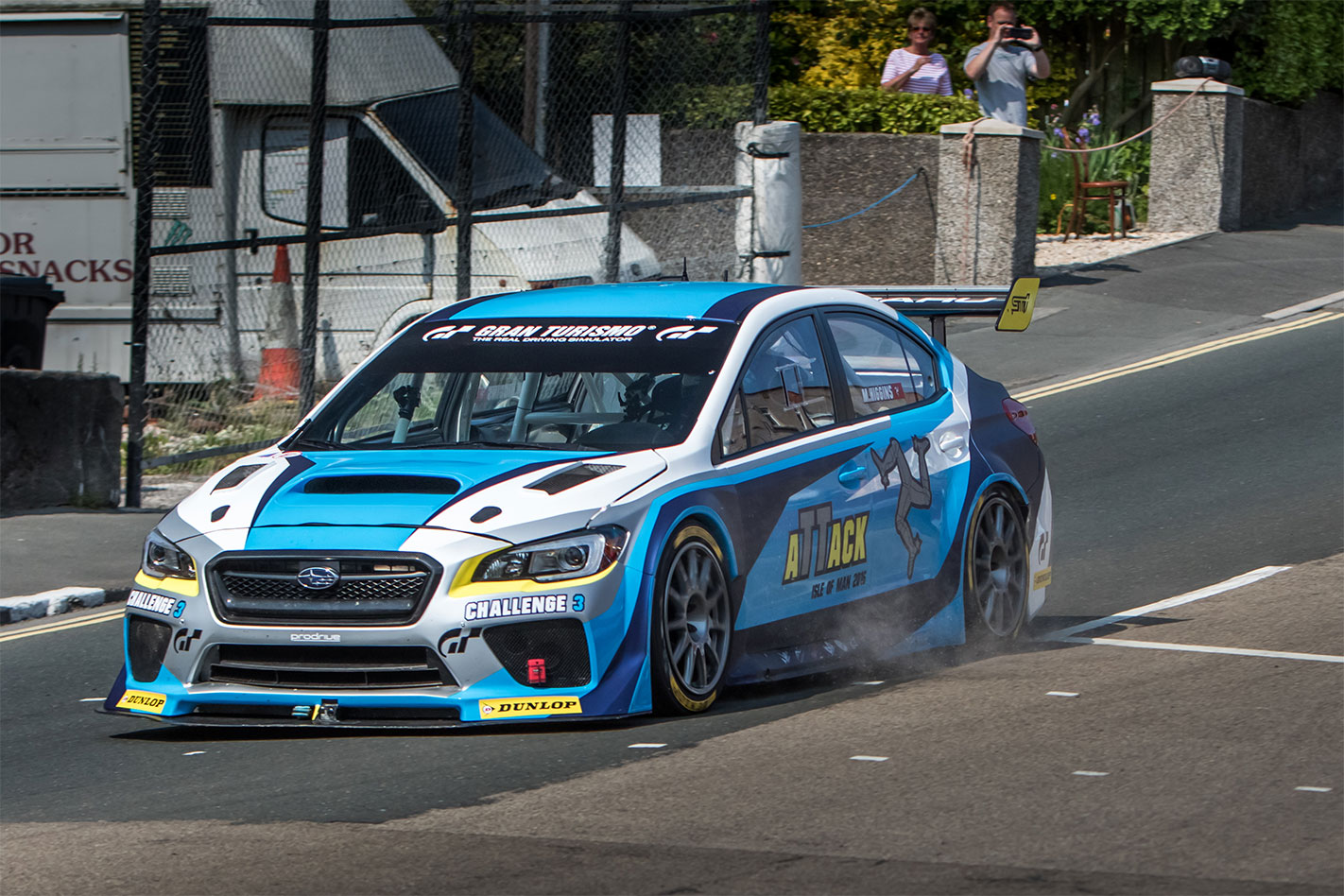 Subaru -Isle -of -Man -TT-record -action