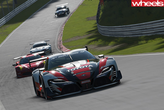 GT3-Cars -driving -circuit -race -Gran -Turismo -Sport -driving