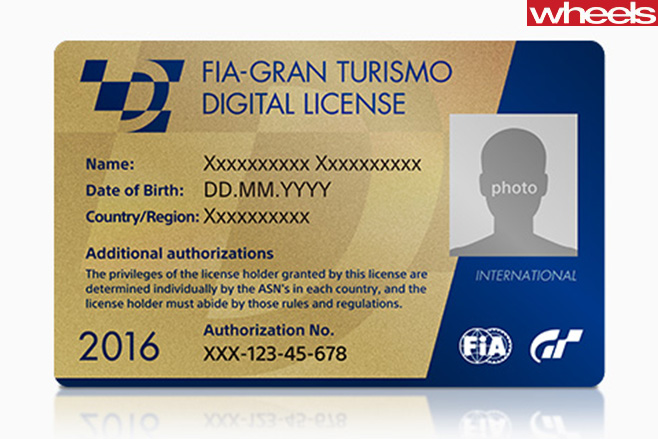 FIA-Gran -Turismo -Digital -License