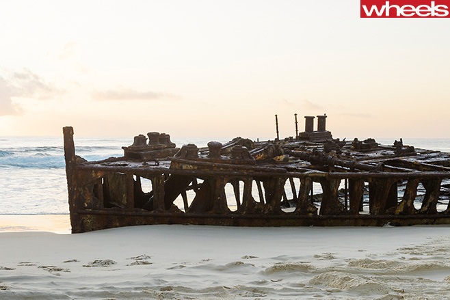 Boat -remains -at -Fraser -Island
