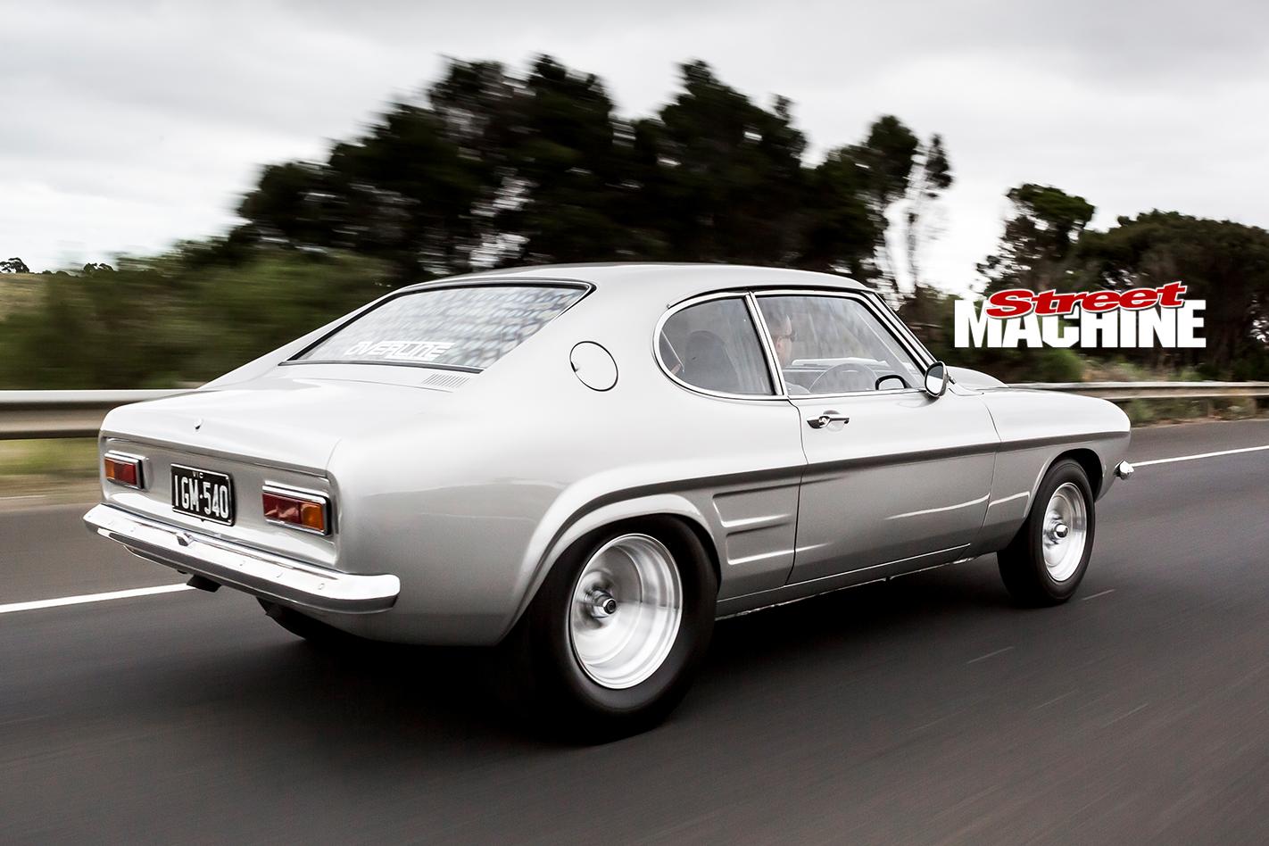 Ford -Capri -onroad -rear